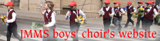 Boys' choir's website