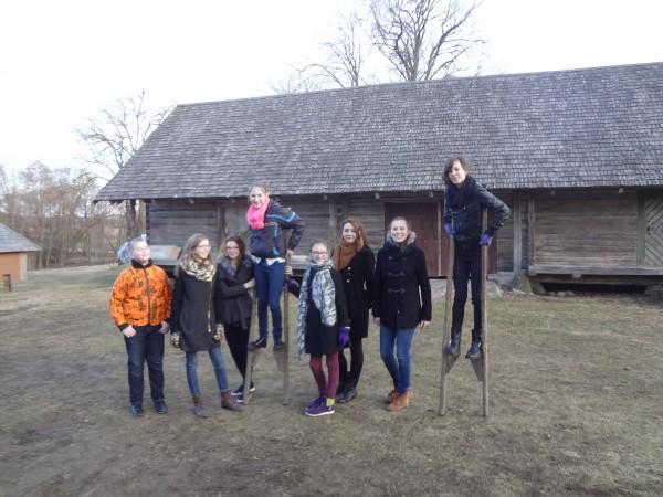 13.04.2014. Brīvdabas muzejā pie Anikščiem, Lietuvā
